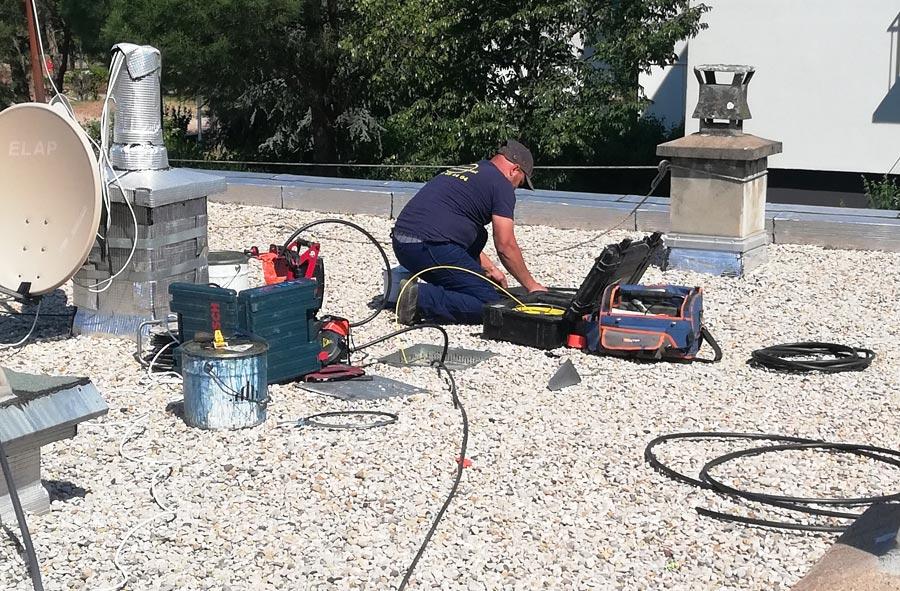 Rénovation canalisation / colonne immeuble Villeurbanne 69